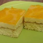 Mandarínková kocka - vanilková