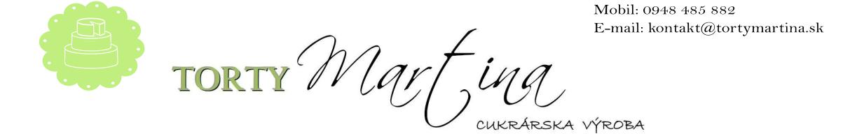 Torty Martina